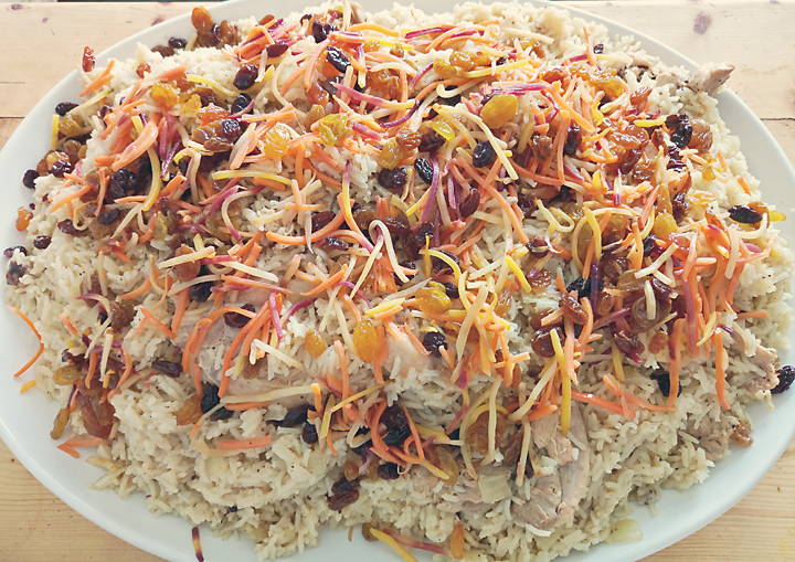 Sunday Dinner at Renaissance Farms: Kabuli Pulao